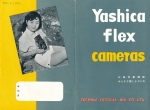 Rather rare early (1956) sales brochure from Yashica.