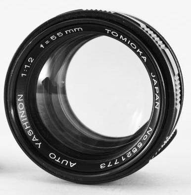 tomioka f1.2 lens