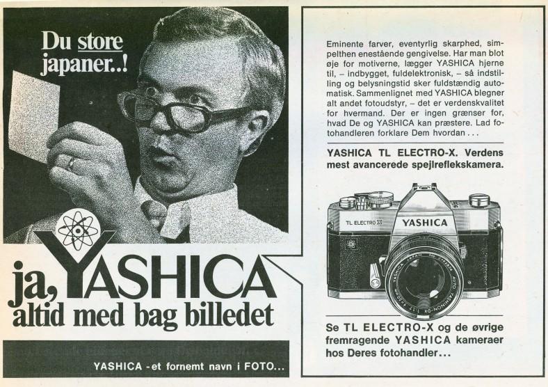 Yashica TL electro x 1972 8