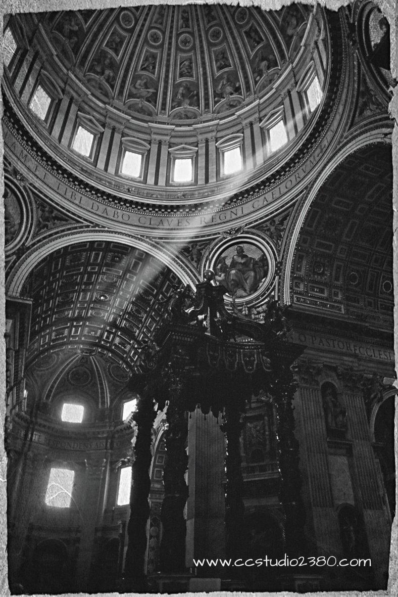 Vintage St. Peter's Basilica