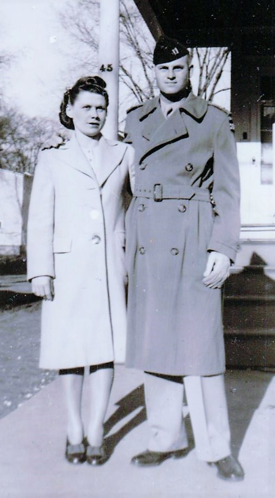 couple in uniform