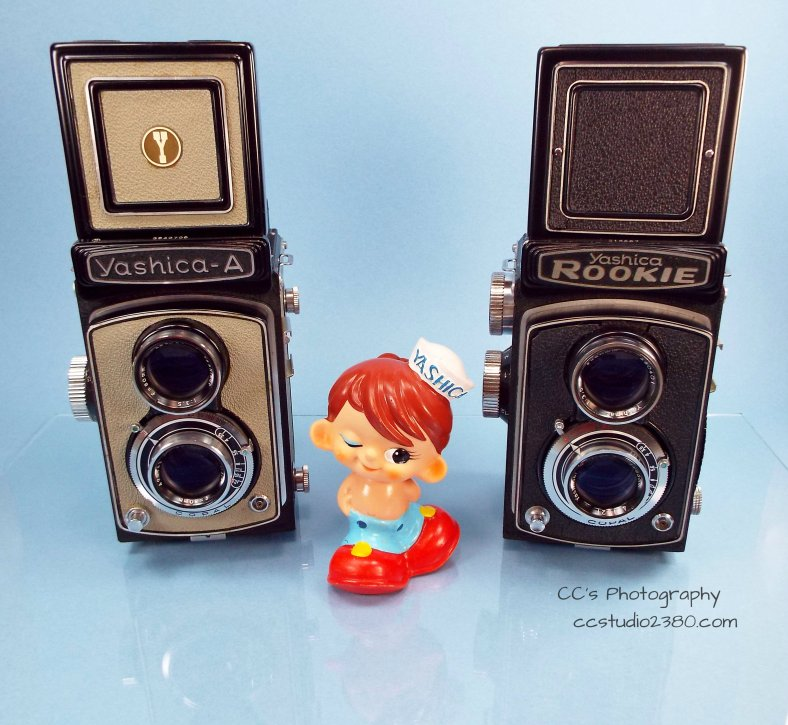 yashica a and rookie