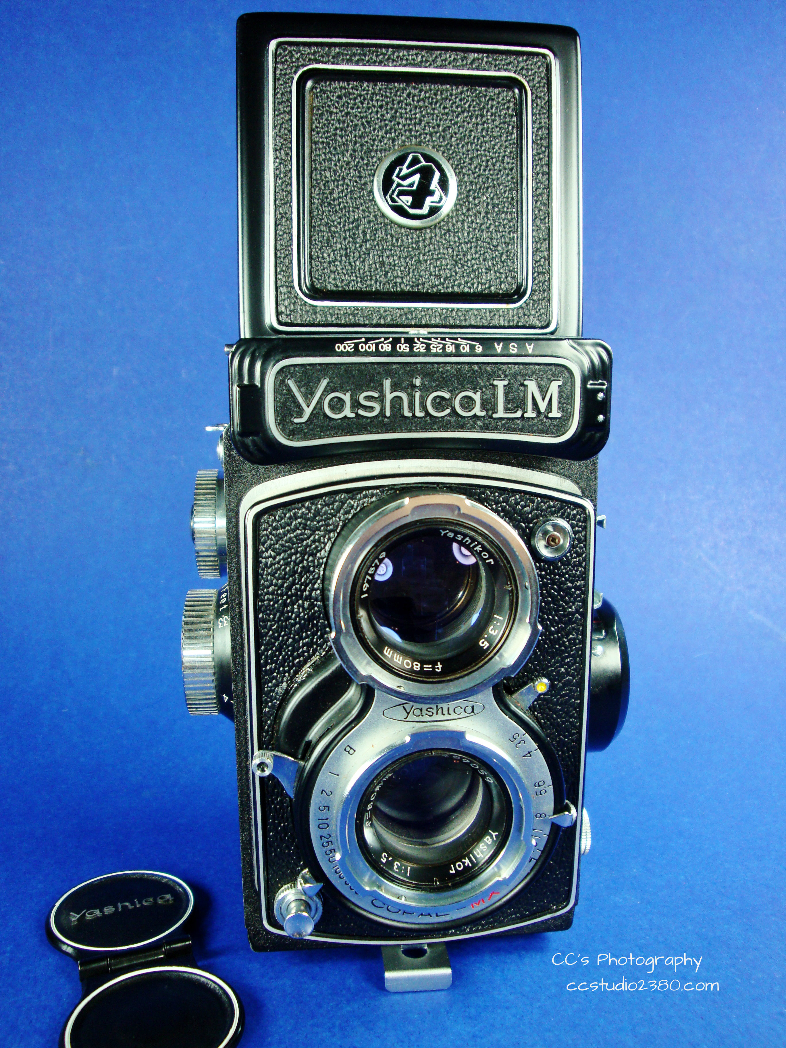 yashica lm first logo
