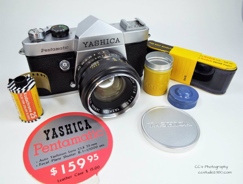 yashica pentamatic set
