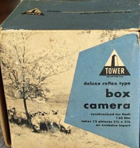 tower box blue