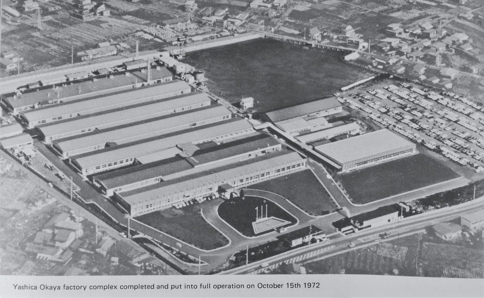 Yashica's New Factory – 1972