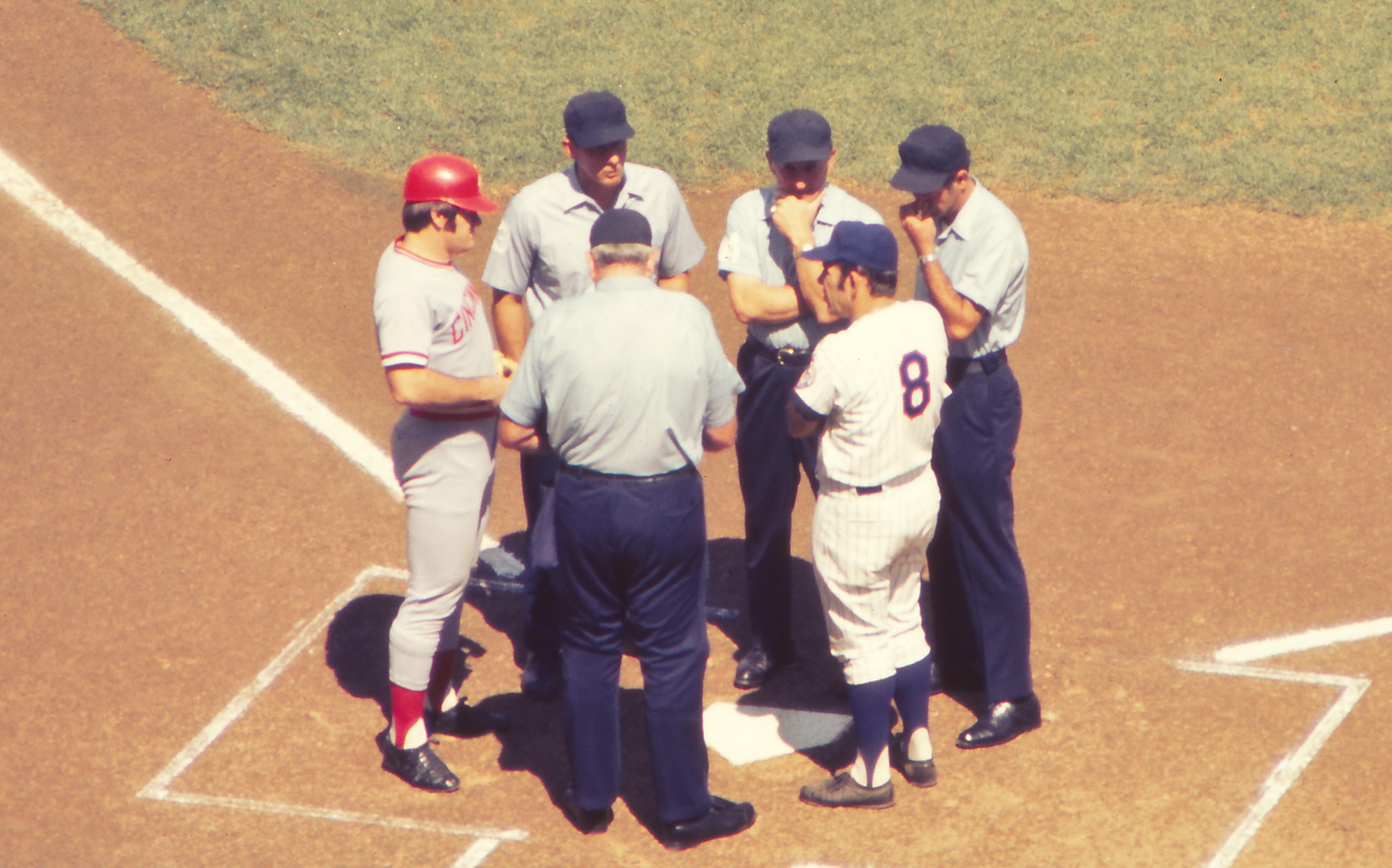 Mets Aug 1972 Yogi