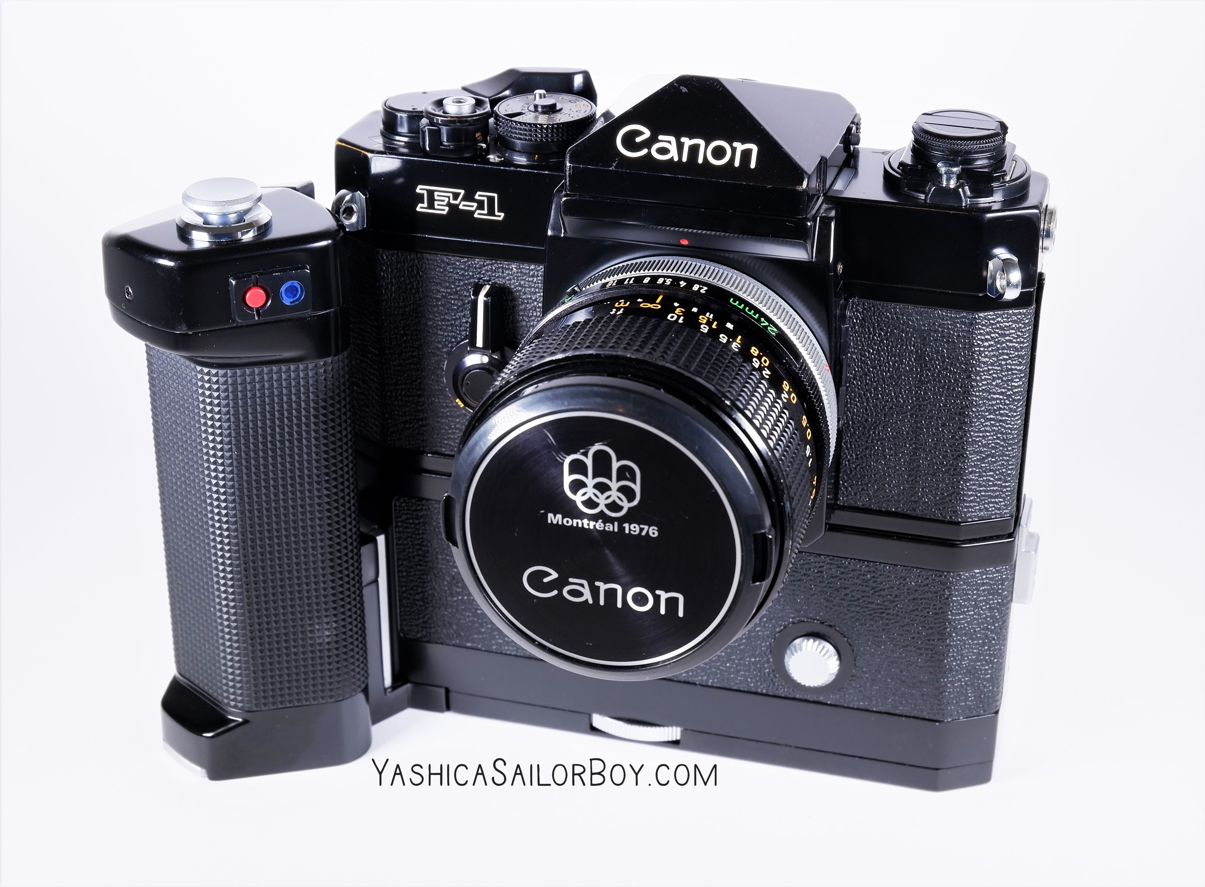 Canon F1 with Montreal