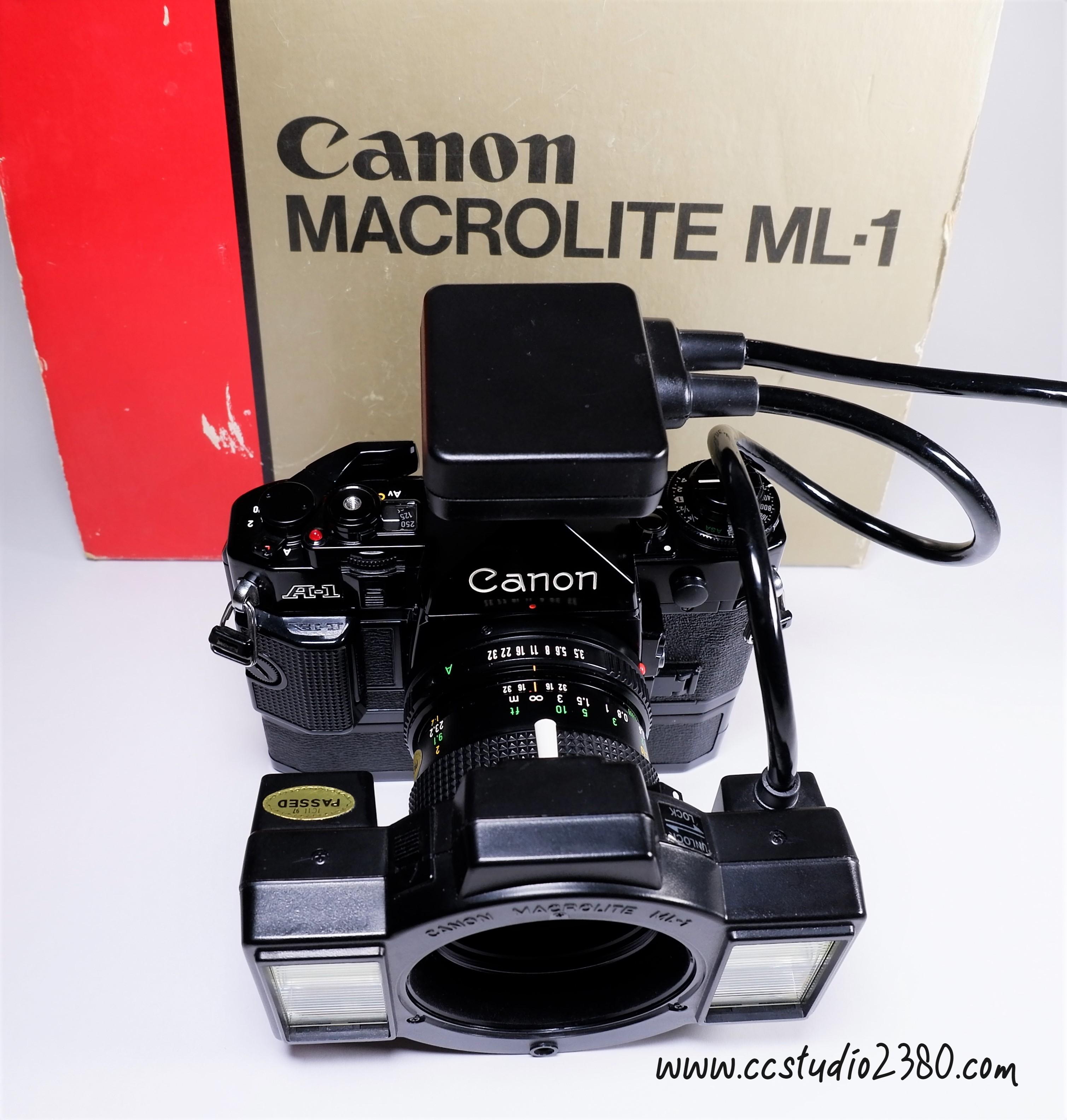 Canon macrolite