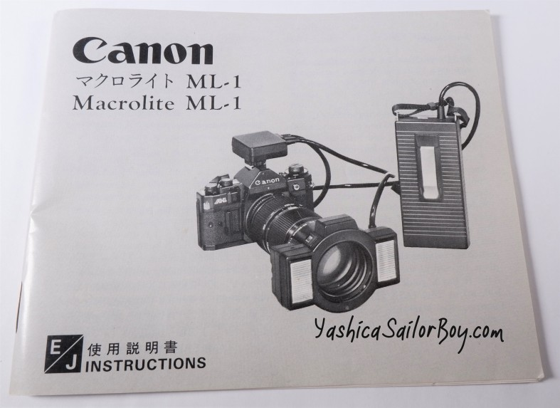 Canon ML Inst
