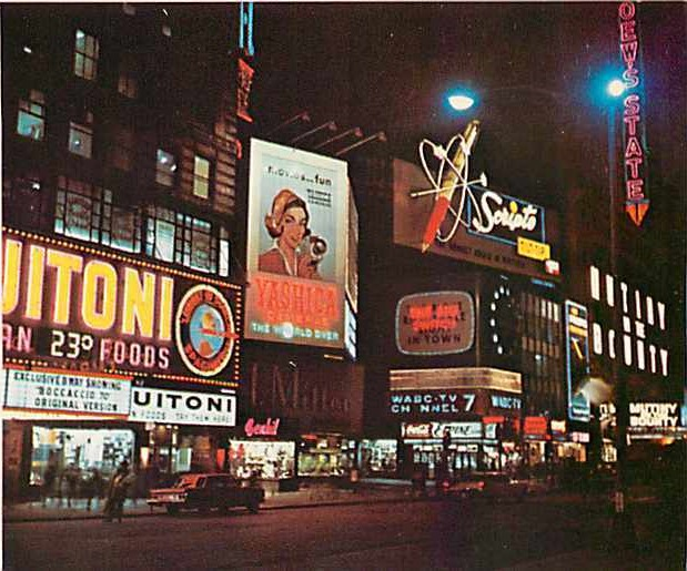 Yashica Ad NYC
