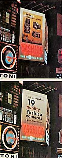 Yashica Billboard NYC 1