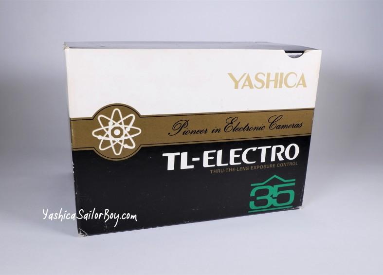 Yashica TL-Electro Box Logo