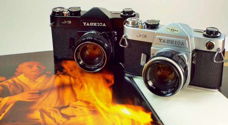 Yashica J3s and book