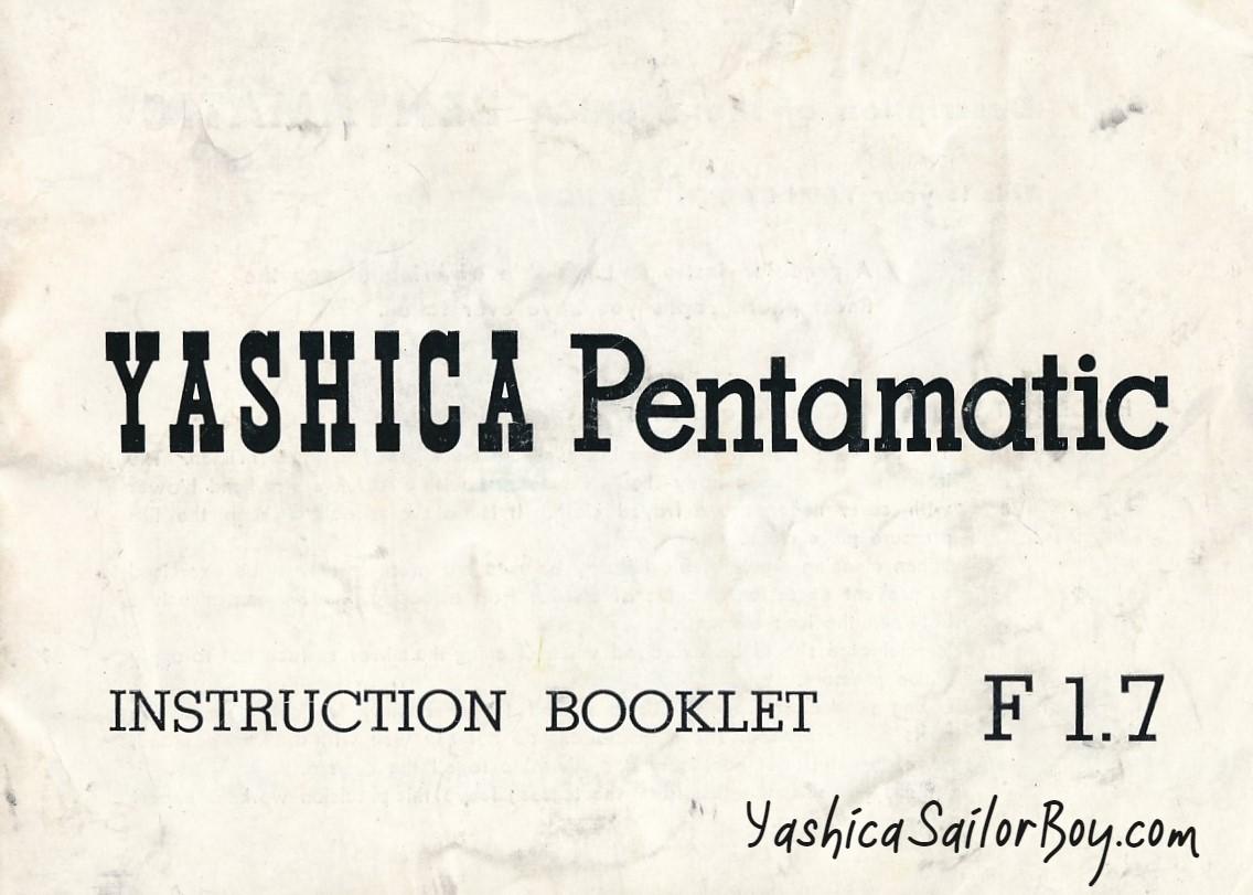 Yashica P2 book lolo