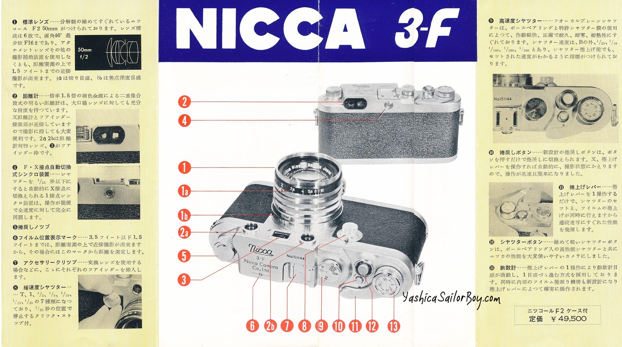 Nicca 3-F Bro