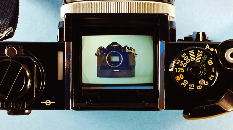 canon f1 viewfinder