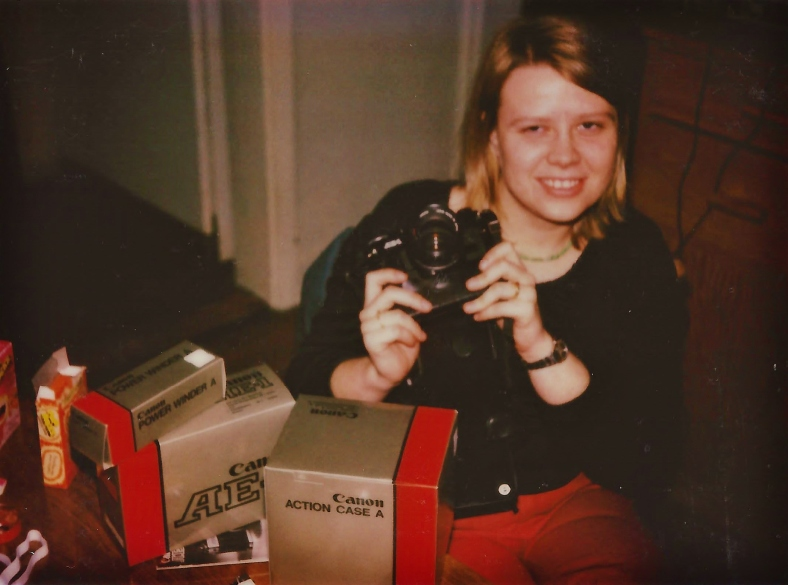 Carol and her AE1