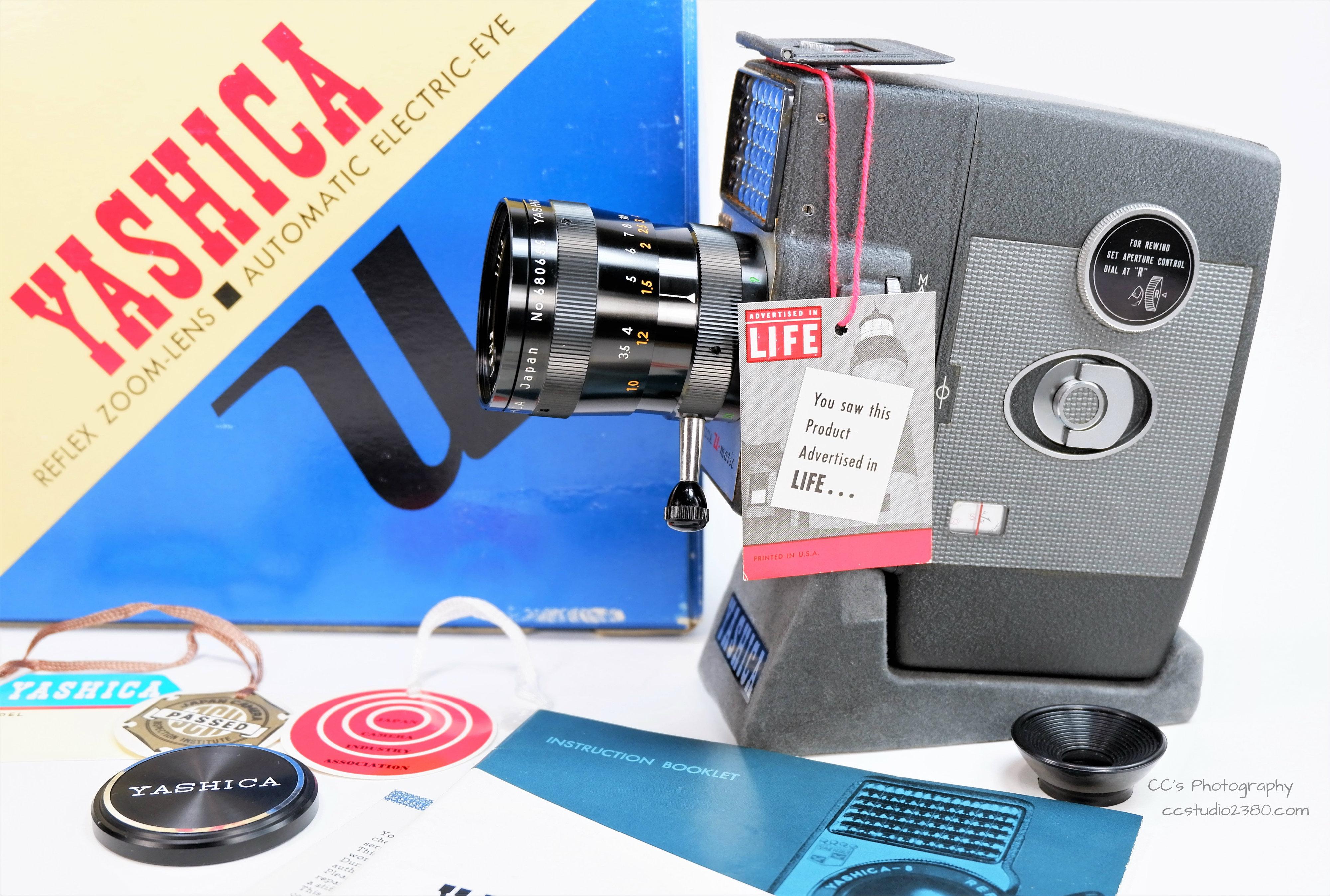 Yashica 8mm Movie Set