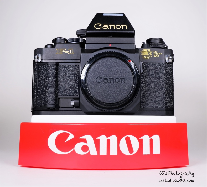 Canon F-1 1984 Oly