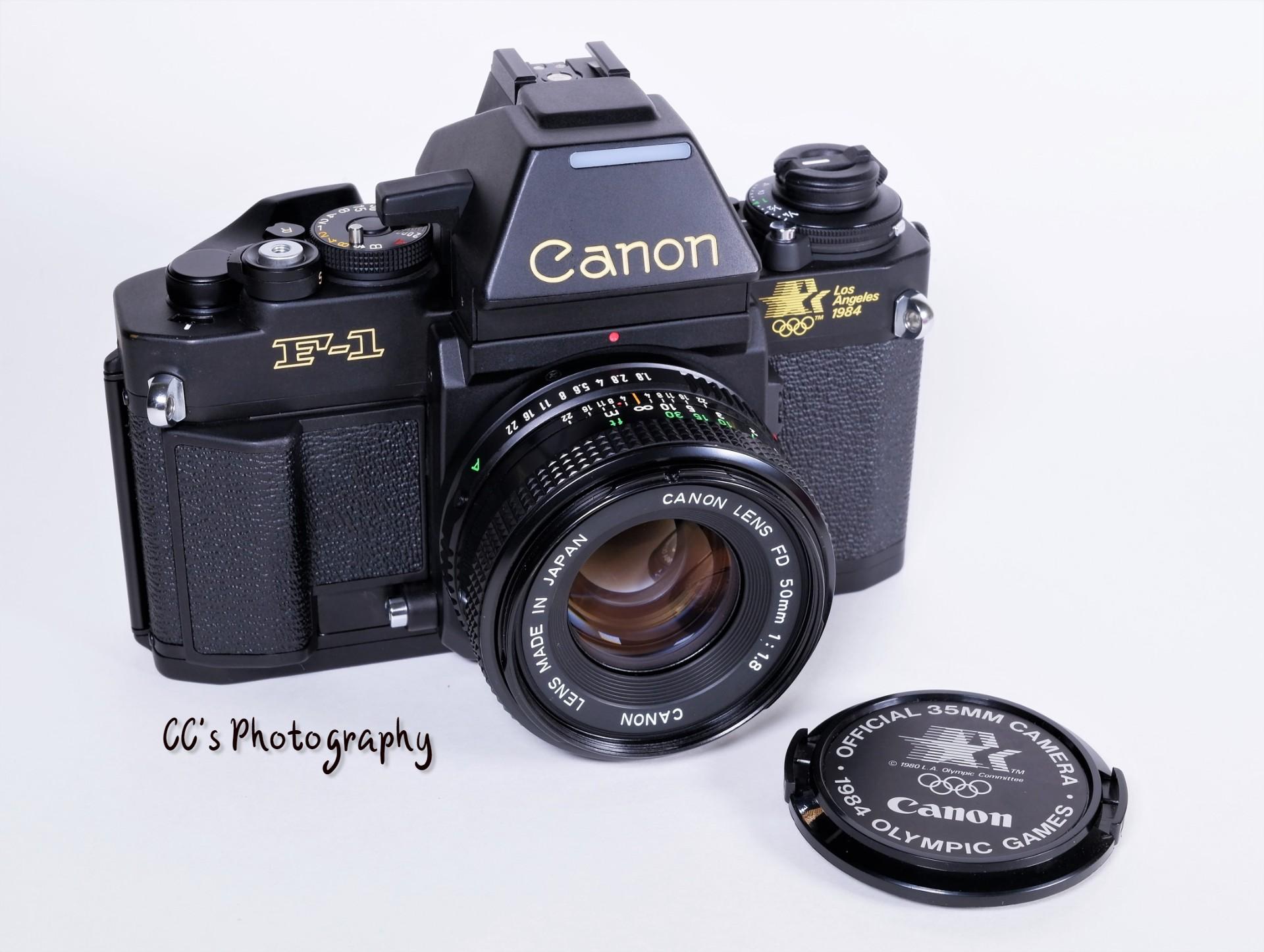 Canon New F-1 Olympics