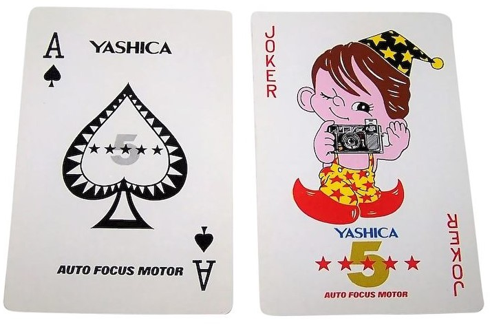 yashica playing cards